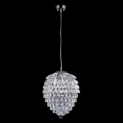 Подвесная люстра Crystal Lux Charme SP6 Chrome/Transparent