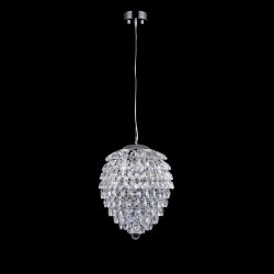 Подвесная люстра Crystal Lux Charme SP4 Chrome/Transparent